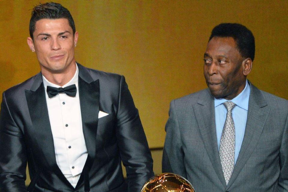 Pele Sambut Gembira Ronaldo Kembali ke Pangkuan Man United