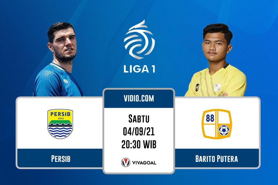Persib Bandung vs Barito Putera: Prediksi dan Link Live Streaming