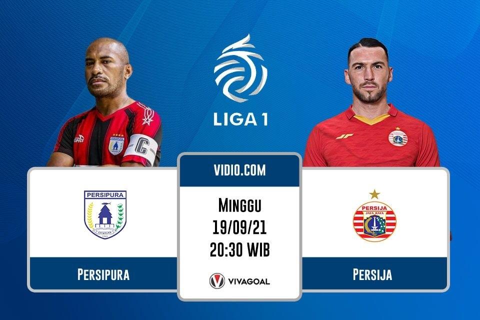 Persipura vs Persija Jakarta: Prediksi dan Link Live Streaming