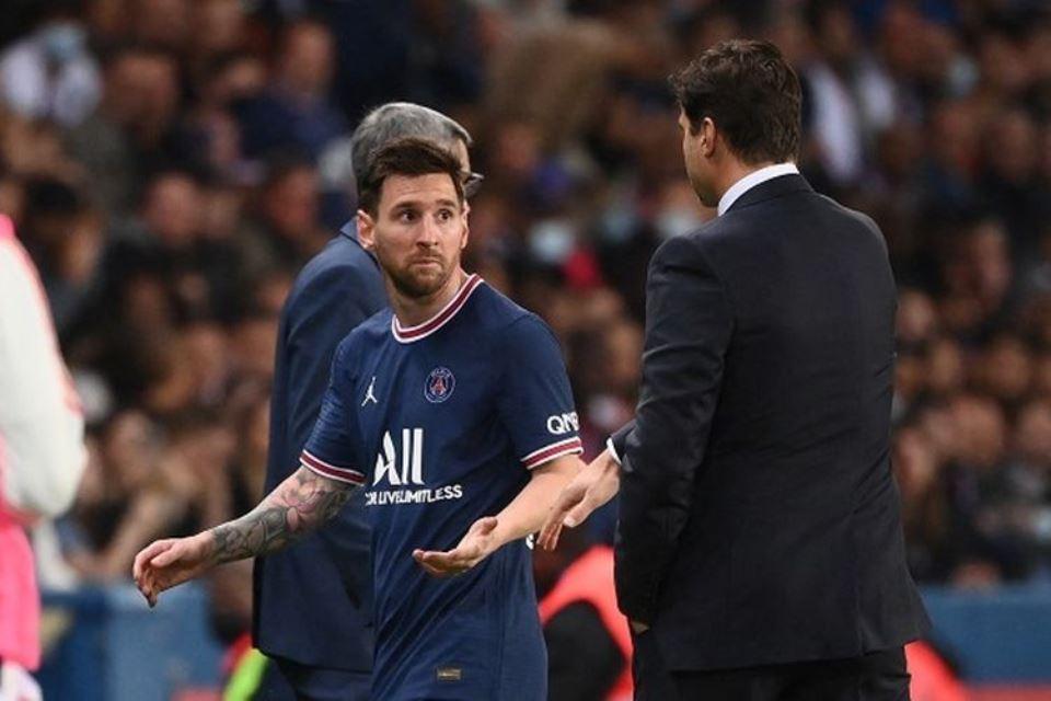 Thiery Henry Komentari Reaksi Messi Yang Marah Saat Diganti