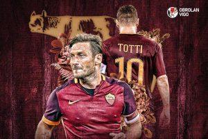 Obrolan Vigo: Francesco Totti, Simbol Cinta yang Sesungguhnya