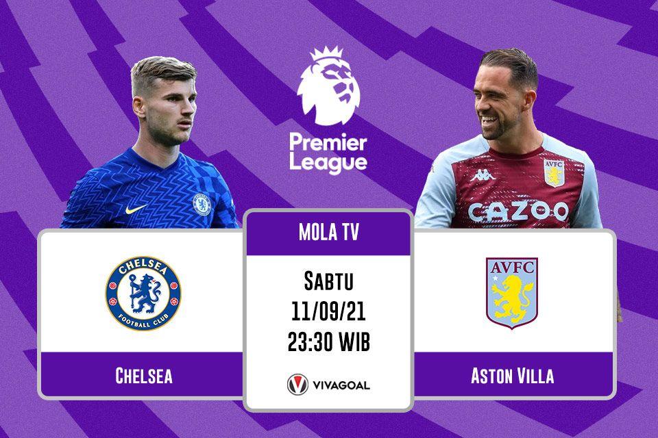 Chelsea vs Aston Villa: Prediksi dan Link Live Streaming