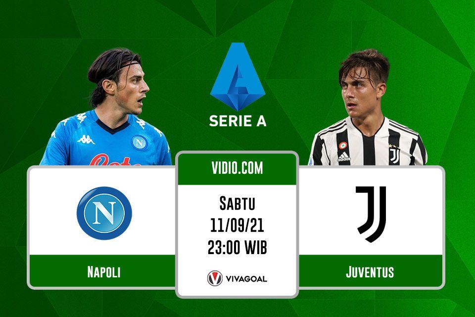 Napoli vs Juventus: Prediksi dan Link Live Streaming