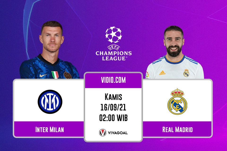 Inter Milan vs Madrid: Prediksi dan Link Live Streaming