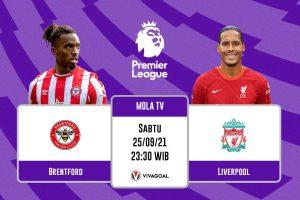 Brentford vs Liverpool: Prediksi dan Link Live Streaming