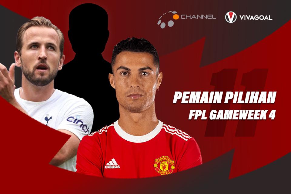 11 Pemain Pilihan Gameweek 4 Fantasy Premier League