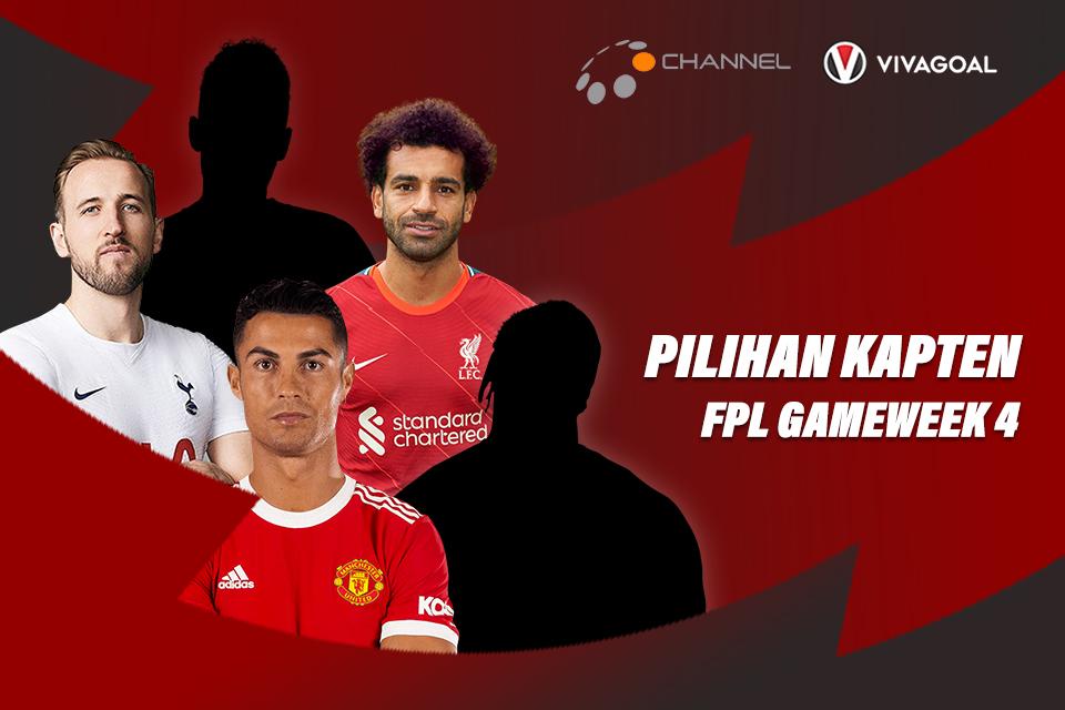 5 Kapten Pilihan Gameweek Keempat Fantasy Premier League