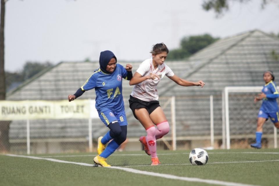 Menang Telak atas Arema FC, Finishing Timnas Putri Masih Jadi Sorotan