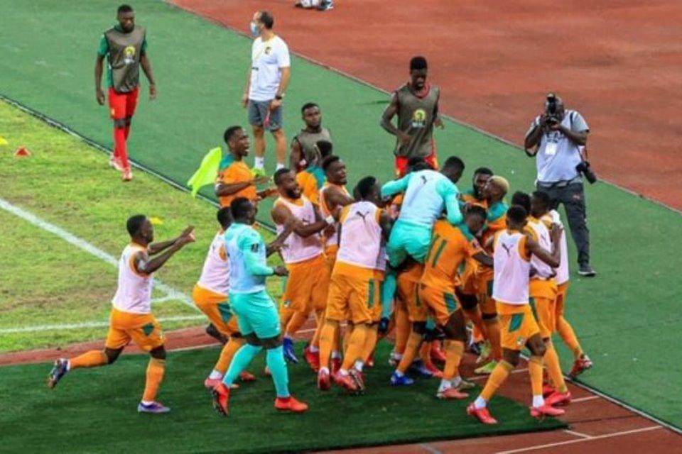 Pantai Gading vs Kamerun