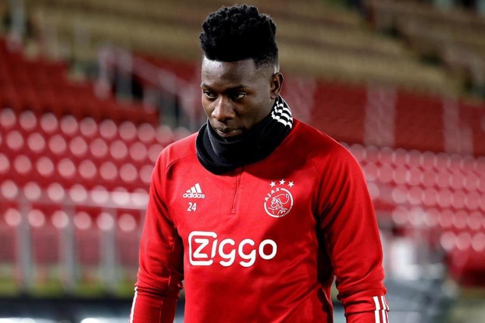 Ajax Umumkan Siap Lepas Andre Onana di Januari 2022