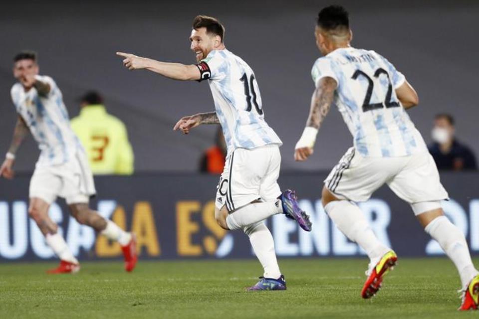 Argentina Sudah Tak Pernah Kalah Dalam 24 Laga, Messi: Sempurna!