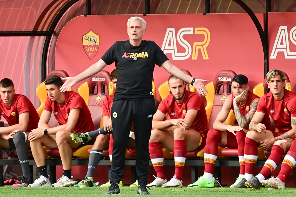 Bersama Roma, Mourinho Baru Rasakan Jadi Pelatih Seutuhnya