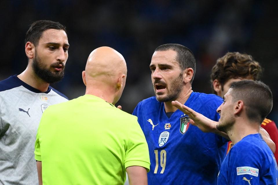 Bonucci Italia vs Spanyol