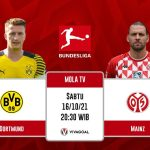 Borussia Dortmund vs FC Mainz: Prediksi Pertandingan dan Link Live Streaming