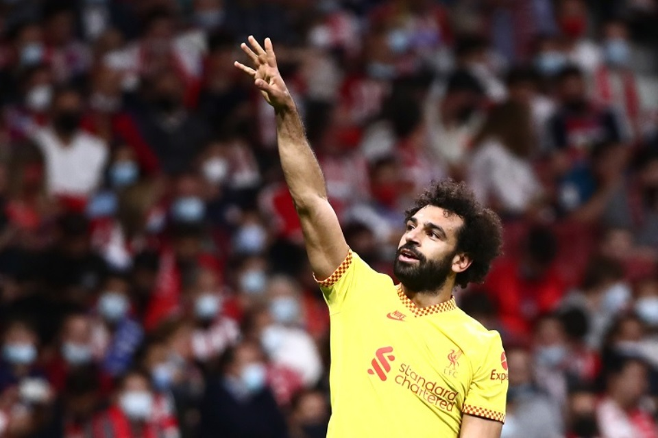 Fix! Mo Salah Lewati Rekor Gol Steven Gerarrd di Liga Champions