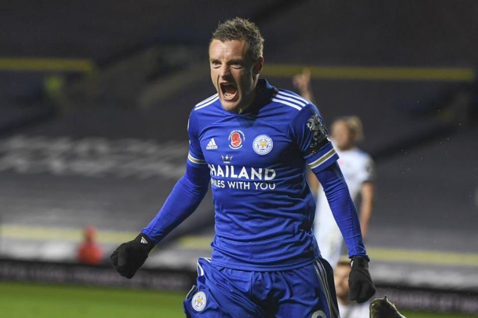 Jamie Vardy Yang On Fire Bisa Jadi Ancaman Buat Man United