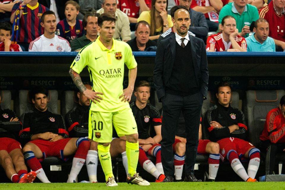 Guardiola Tak Terkejut Lihat Kondisi Barca Saat Ini