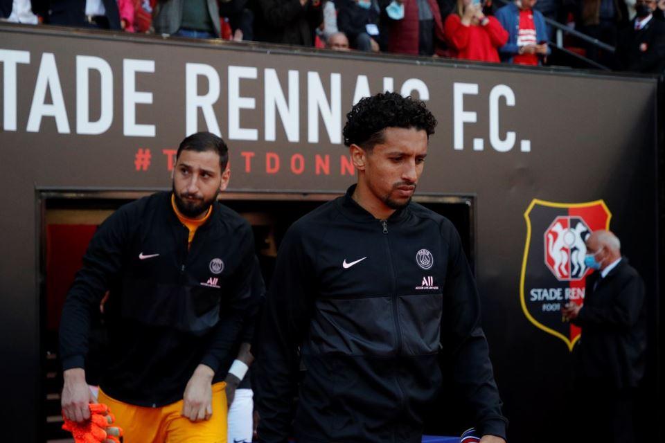 PSG Kalah dari Rennes, Marquinhos: Kelelahan Bukan Alasan