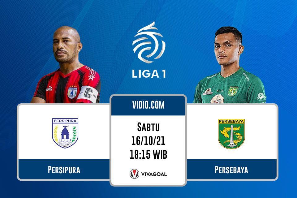 Persipura Jayapura vs Persebaya Surabaya: Prediksi dan Link Streaming