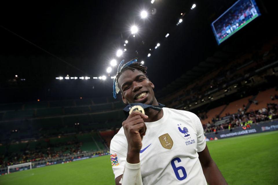 Pogba Bergelimang Trofi di Timnas Prancis, Memble di Man United