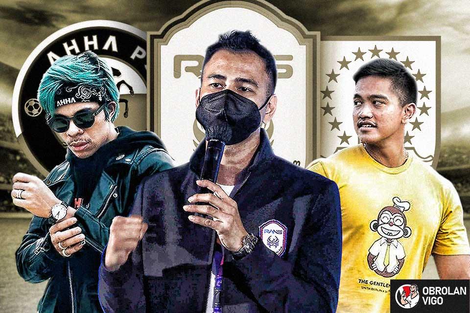 Obrolan Vigo: Selebritis Indonesia Punya Tim Sepakbola, Buat Apa?
