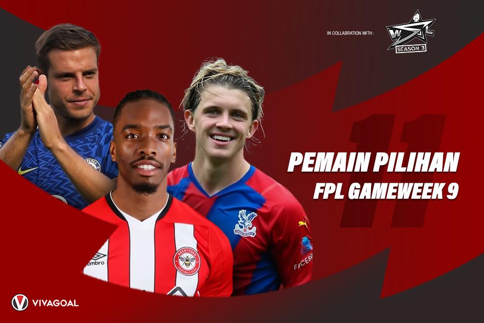 11 Pemain Pilihan Gameweek 9 Fantasy Premier League