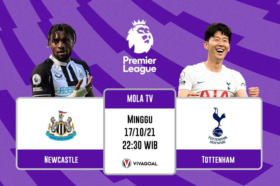 Newcastle vs Tottenham Hotspur: Prediksi dan Link Live Streaming