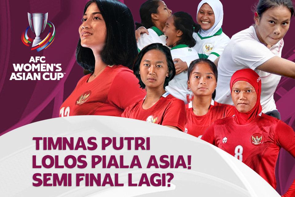 Bisa Semi Final Lagi? Timnas Wanita Indonesia di Piala Asia 2022