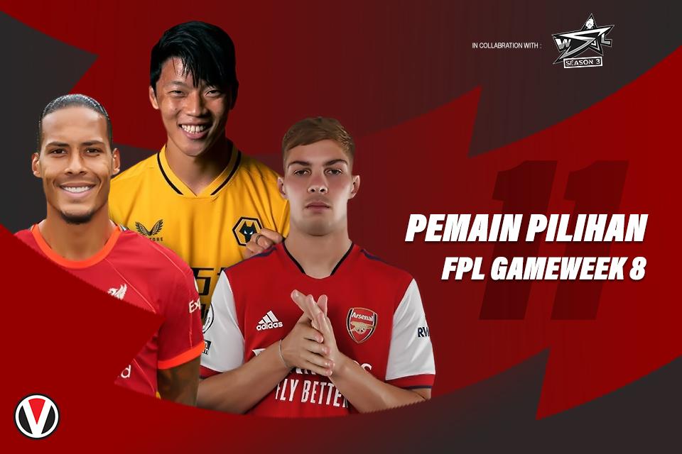 11 Pemain Pilihan Gameweek 8 FPL