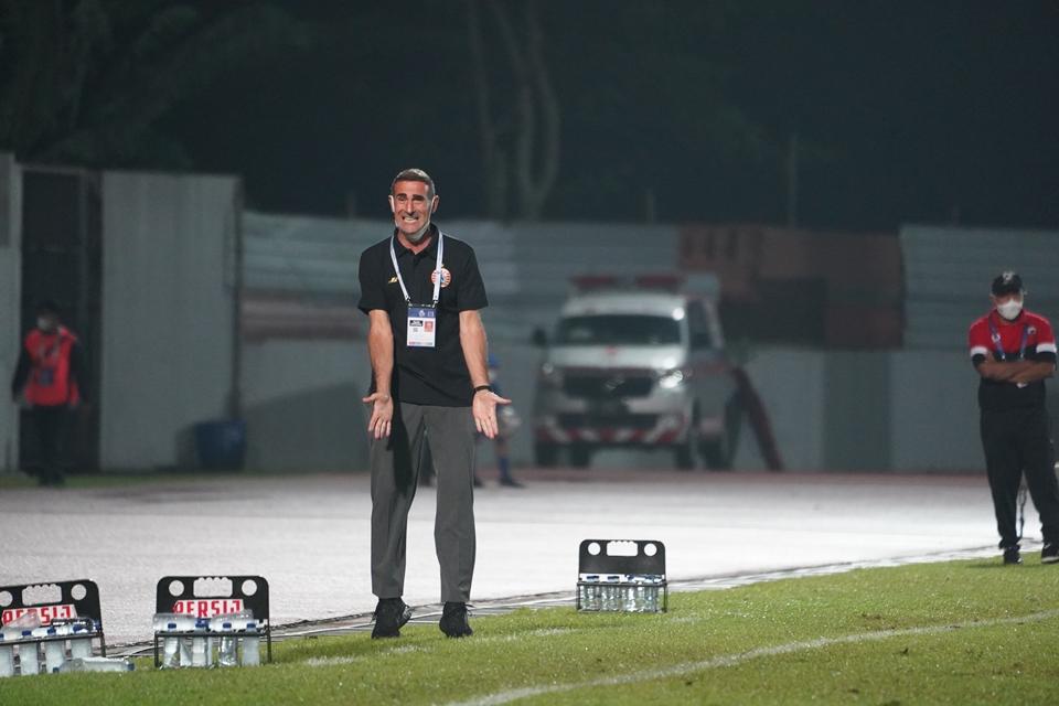 Angelo Alessio: Persija Tidak Seperti sedang Bermain Sepakbola!
